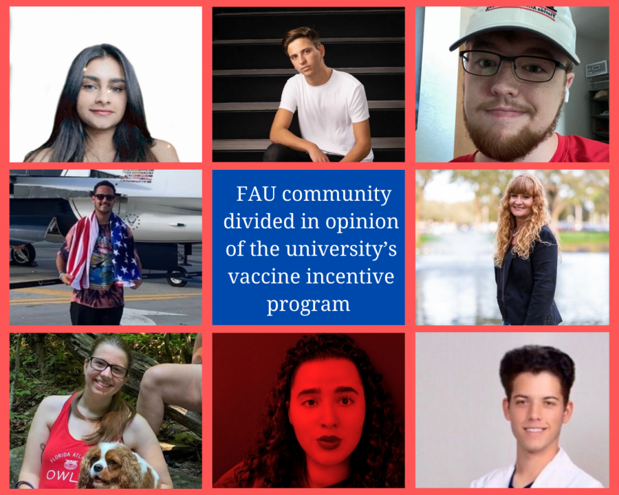 FAU community divided in opinion of the university's vaccine incentive program