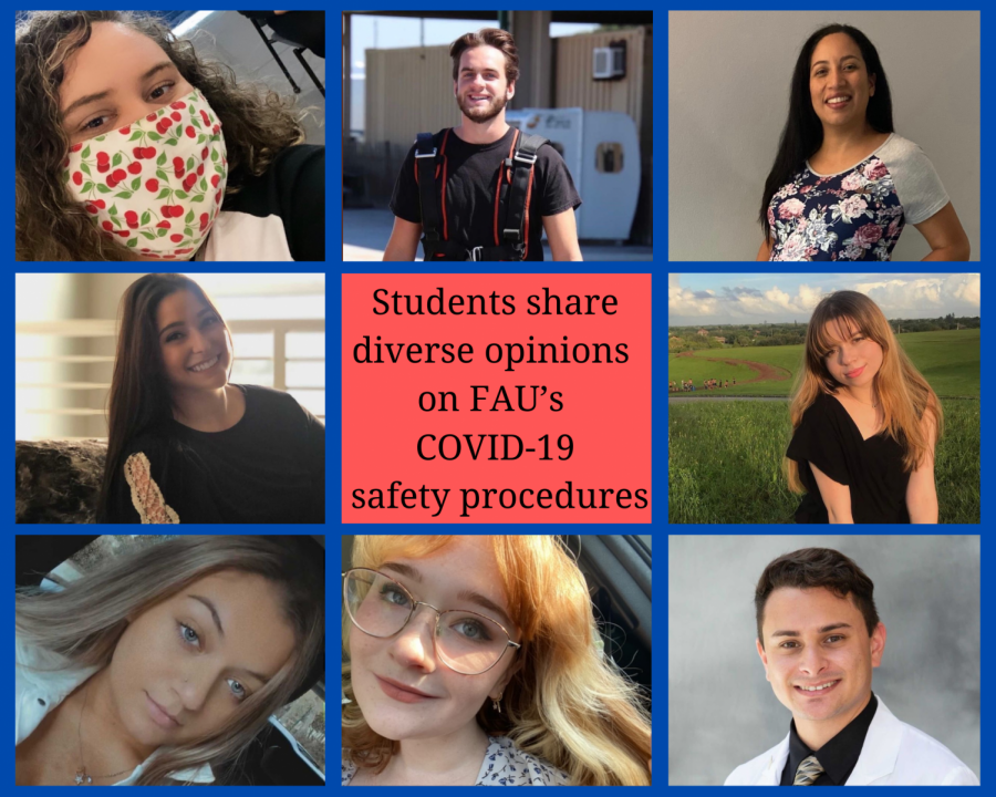 Students share diverse opinions on FAU's COVID-19 safety procedures