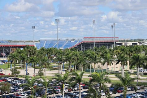 Picture of the FAU Stadium.