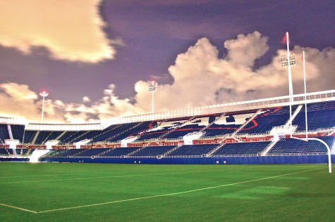 29,103 people attended FAU's first home game on Oct. 15. By the fourth home game on Nov. 26, that number dropped to 12,044. East and West Boca Tackle parents and coaches have said they'll no longer attend FAU home games after the university cancelled the leagues' Nov. 12 season-ending game. Photo by Abhi Saini.