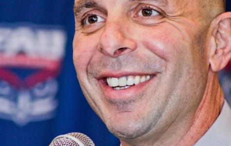 """After being introduced as the new head coach on Dec.5, Carl Pelini said, """"I'm prepared when I leave this press conference, I'm going to my office and we're going to hit the ground running."""