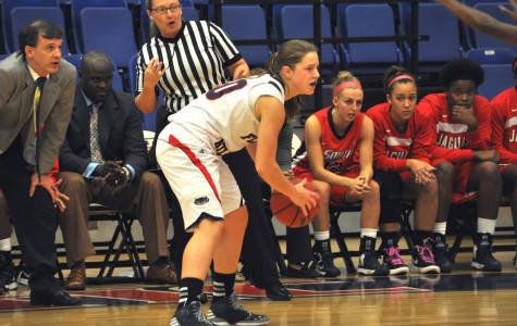 Women's basketball: Owls use second half scoring burst to win Sun Belt opener, 67-56, over South Alabama