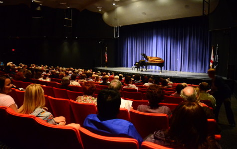 Professors play the piano